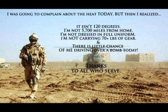 Deployed and its hot