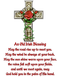 Old Irish Blessing