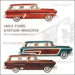1953 ford wagon