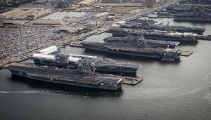 5 USN Carriers