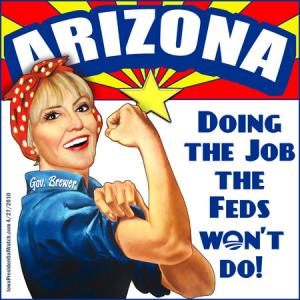 Arizona doing the job the feds won't do