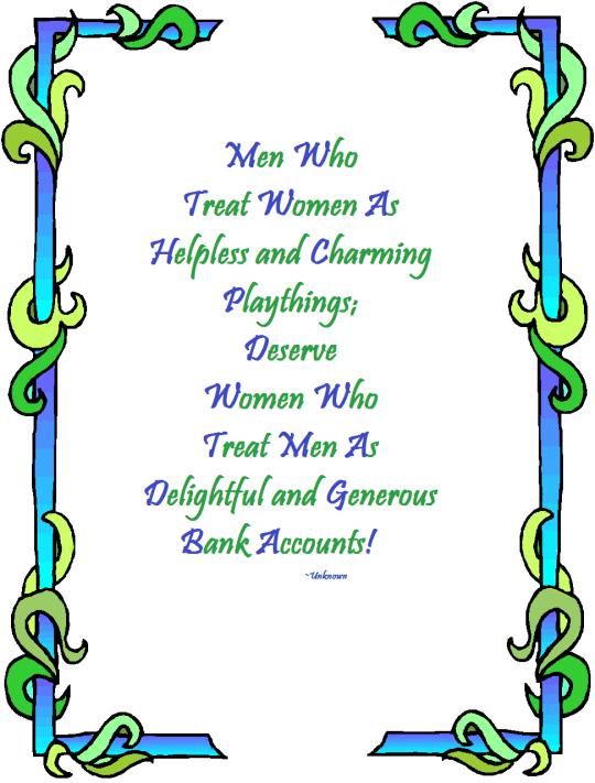 Men who treat Women - Quote