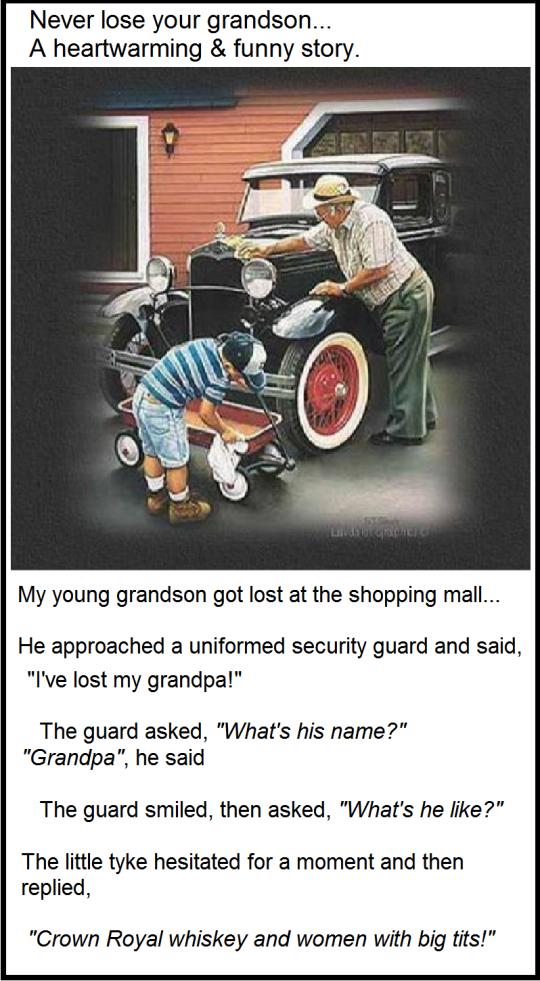 Lost grandpa